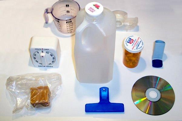 emballages PVC, polypropylène