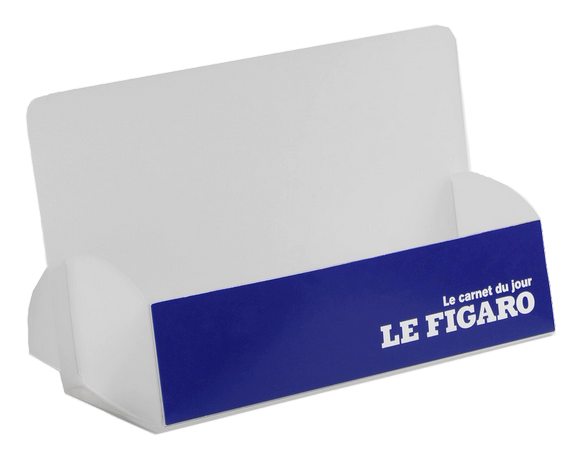 présentoir plastique, distributeur documents