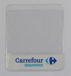 Fabricant de pochette adhésive porte-assurance personnaliée